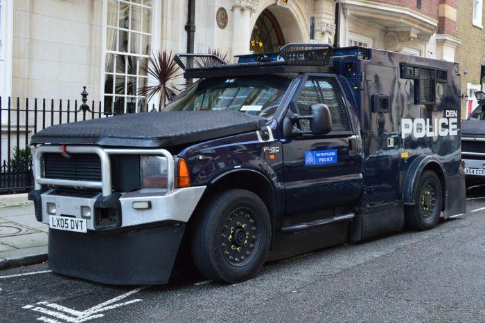 Специальные машины полиции (12 фото)