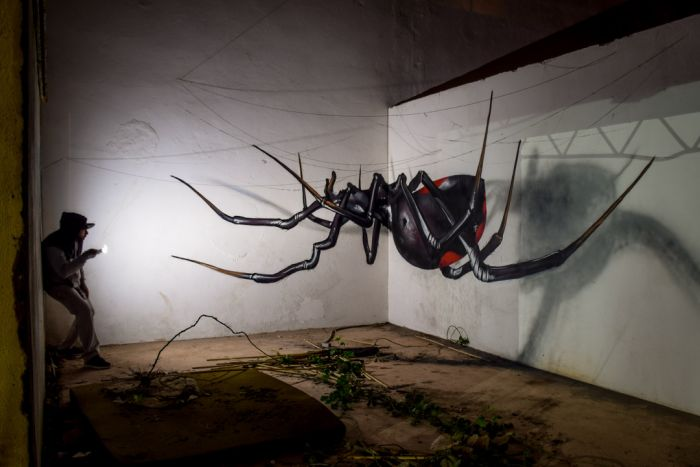 3D-рисунки от уличных художников (21 фото)