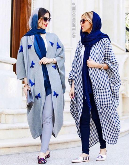 Иранские модницы в хиджабах (29 фото)