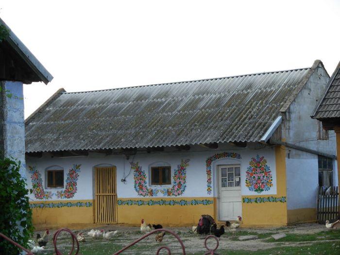 Залипье - самая яркая деревня Польши (31 фото)