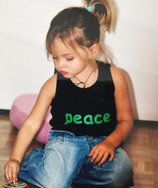Повзрослевшая «самая красивая девочка в мире» Тилан Блондо (9 фото)