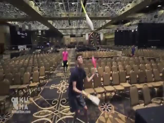 Невероятное жонглирование