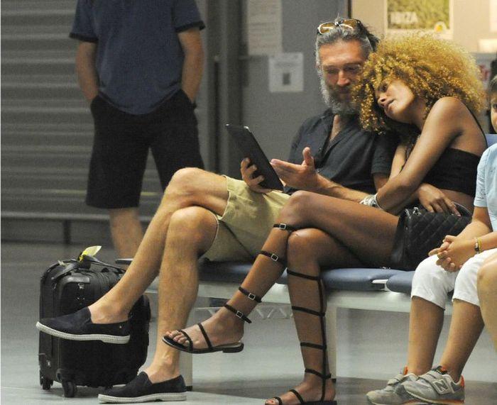 Новой избранницей Венсана Касселя стала 19-летняя темнокожая модель (12 фото)