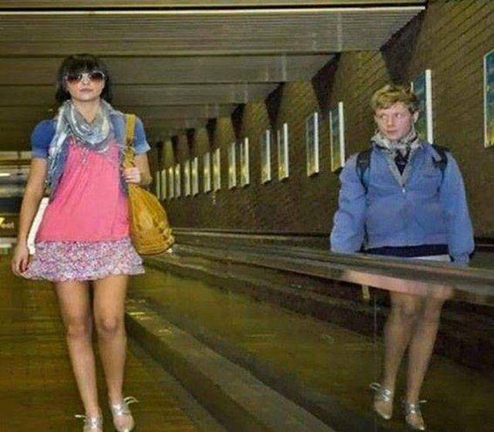 Забавные фото из аэропортов (30 фото)