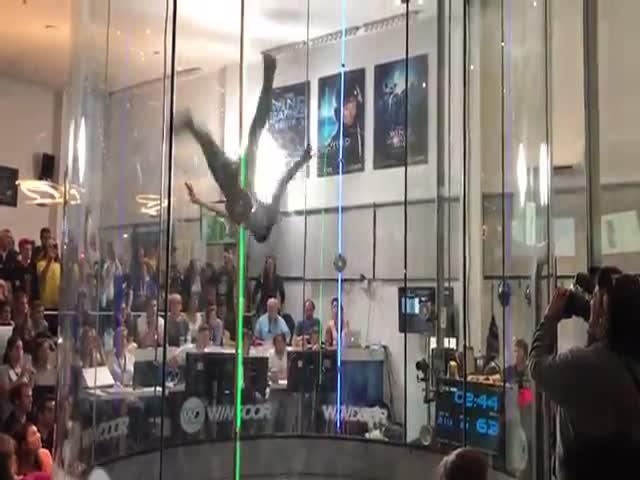 Танец в аэродинамической трубе