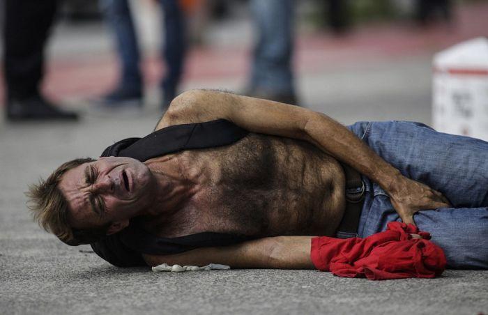 Забастовка полицейских в бразильском городе Витория привела к настоящему хаосу (13 фото + 3 видео)