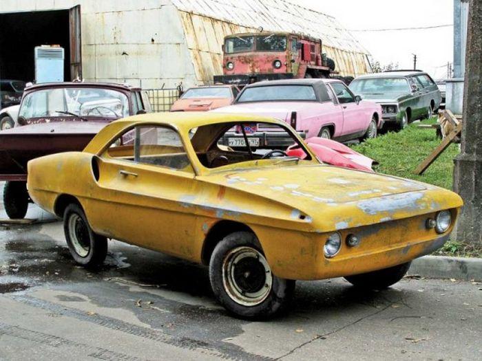 МКЗ-НАМИ «Спорт-900» - уникальный концепт спорткара на базе «Запорожца» (10 фото)