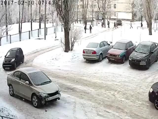 Припарковался не в том месте и не в то время