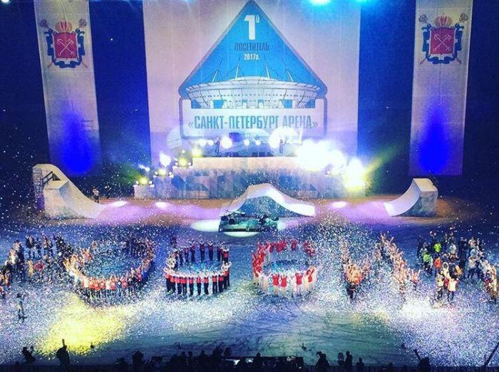 Открытие Зенит-арены на Крестовском острове (10 фото)