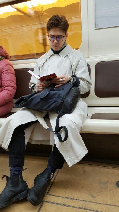 Модники из российского метрополитена (34 фото)