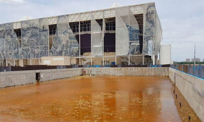 Бразильский стадион Олимпийских игр 2016 спустя 6 месяцев (12 фото)