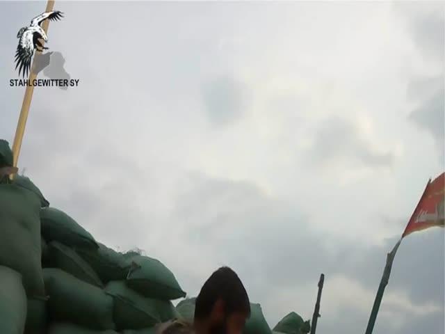 Под обстрелом снайпера ИГИЛ