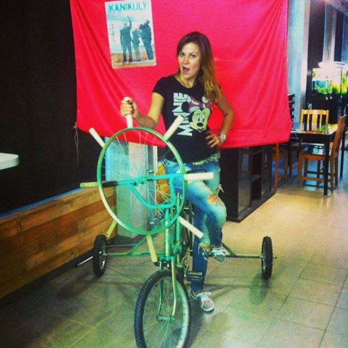 Крутые и необычные велосипеды (40 фото)