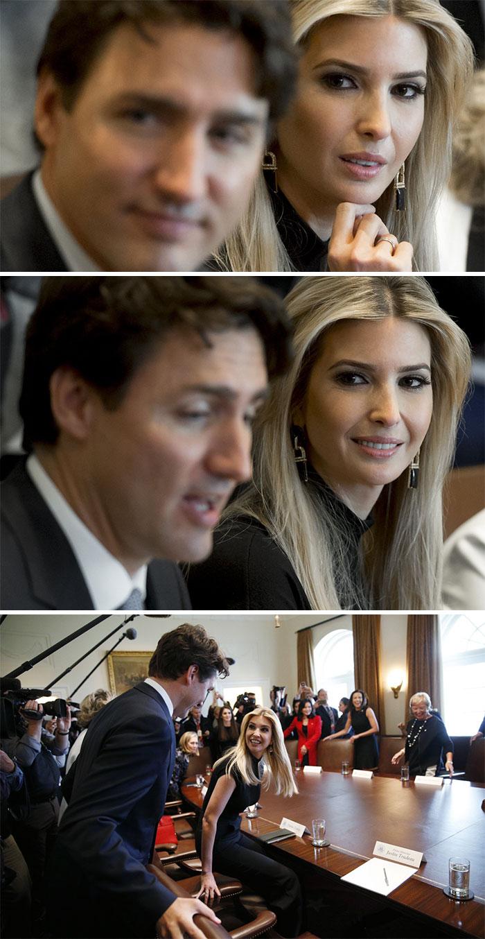 Все любят премьер-министра Канады (7 фото)