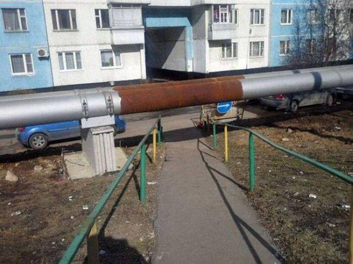 Фото, которые возможно было сделать только в России. Часть 58 (35 фото)