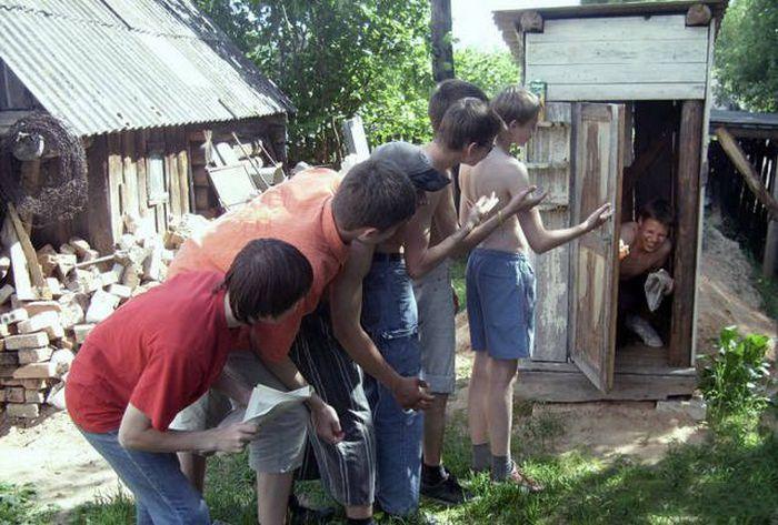 Странные мужские развлечения (36 фото)