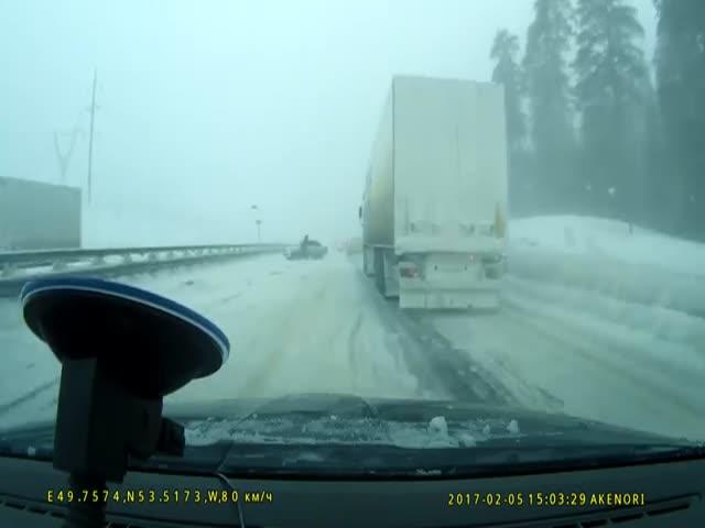 Дельный совет пассажира предотвратил аварию