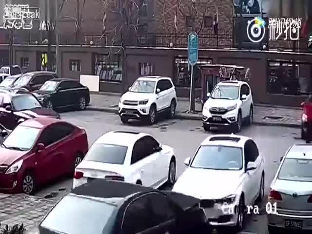 Как не стоит парковаться