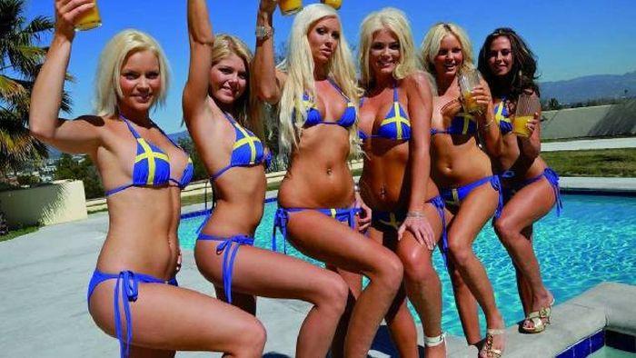 шведские девушки фото попа