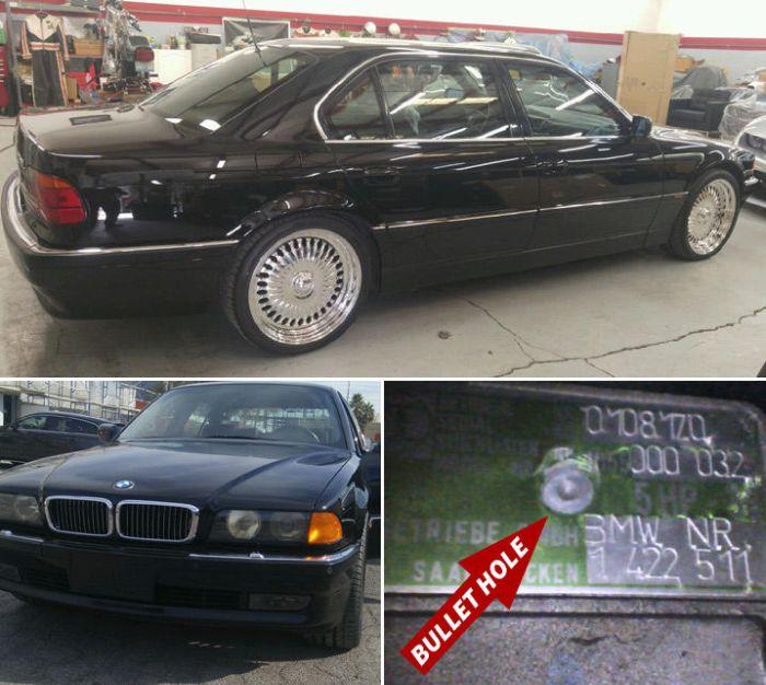 В США продают автомобиль, в котором был застрелен рэпер Тупак Шакур (3 фото)