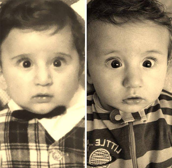 Поразительное сходство (24 фото)