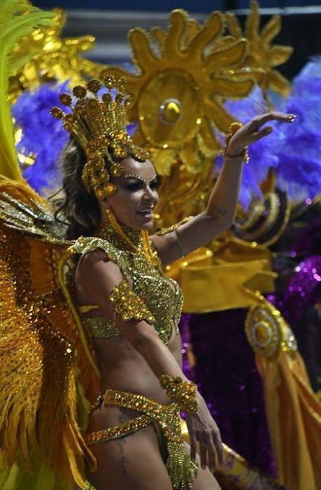Девушки на карнавале в Рио-де-Жанейро (27 фото)