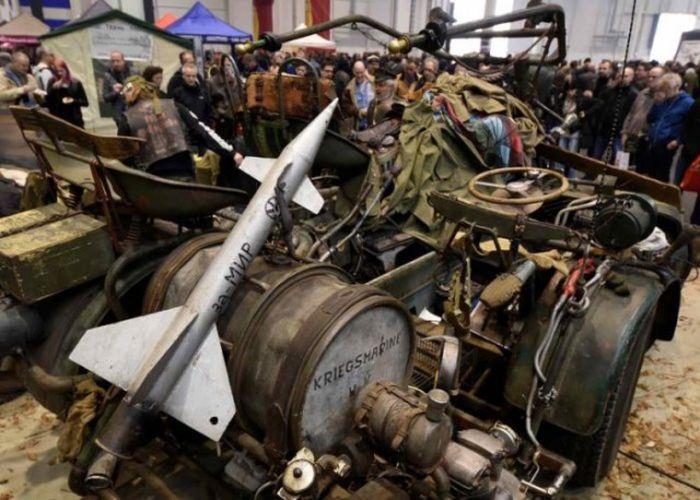 Немцы построили самый тяжелый в мире мотоцикл с двигателем от советского танка (10 фото + видео)