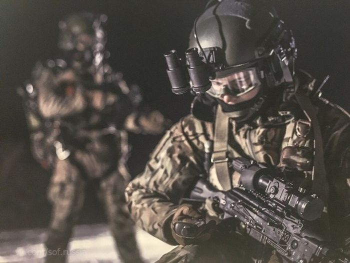 Бойцы Сил специальных операций в Сирии (22 фото)