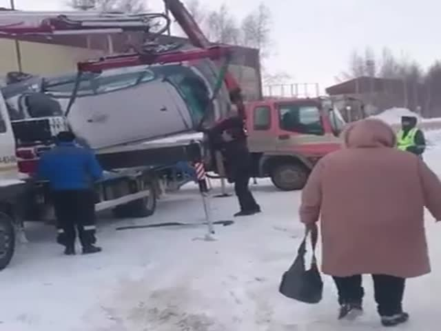 Эвакуация по-сургутски