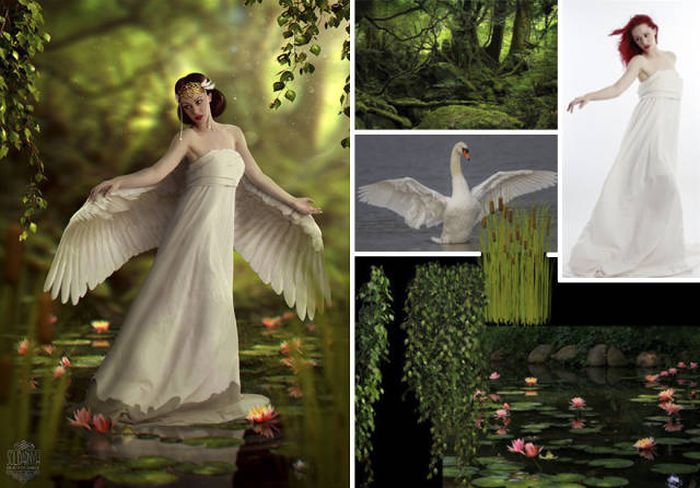Photoshop Ustası Victoria'nın Eserleri (26 Fotograf)