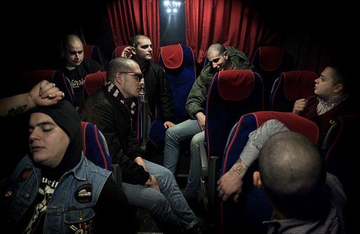 Европейские скинхеды (18 фото)