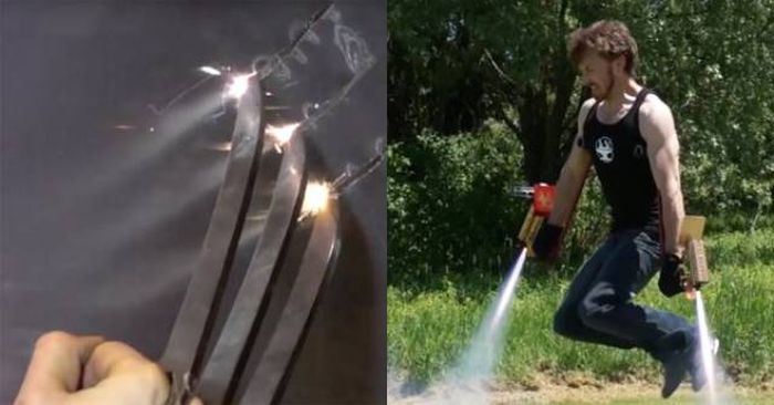 Оружие и экипировка супергероев (10 гифок)