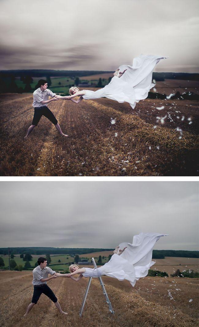 За кадром красивых фотографий (33 фото)