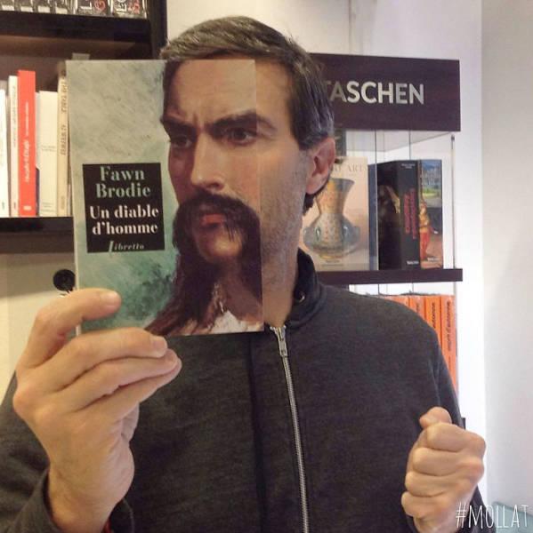 Юмор из книжных магазинов  (40 фото)