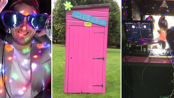 В Великобритании появился самый маленький в мире ночной клуб «Club 28» (2 фото + видео)