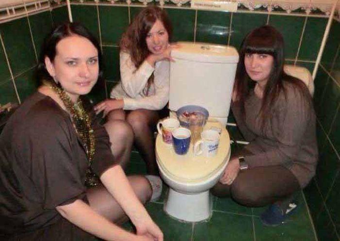 Забавные фото с девушками (43 фото)