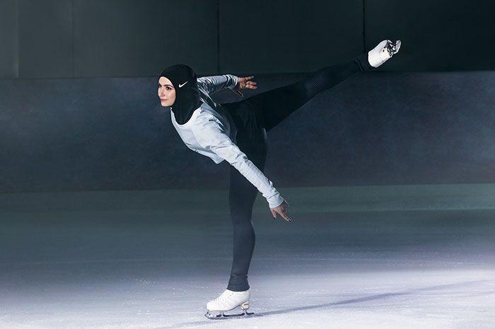 Nike разработал спортивный хиджаб (6 фото)