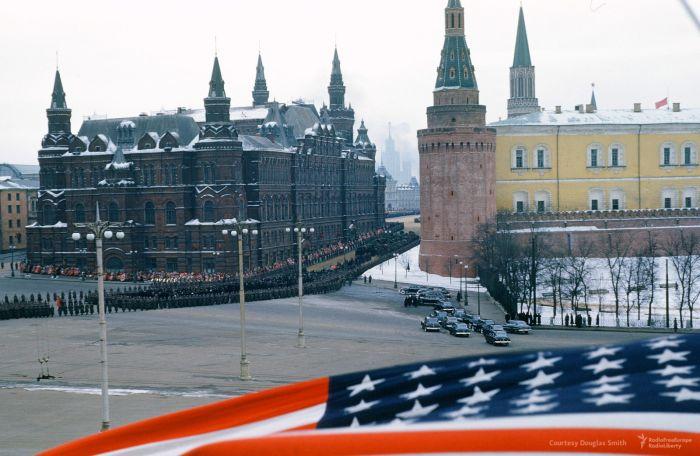 В сети появились неизвестные кадры похорон Сталина (8 фото + видео)