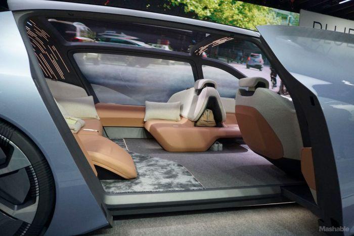 Китайцы показали концепт электромобиля будущего NIO EVE (8 фото)