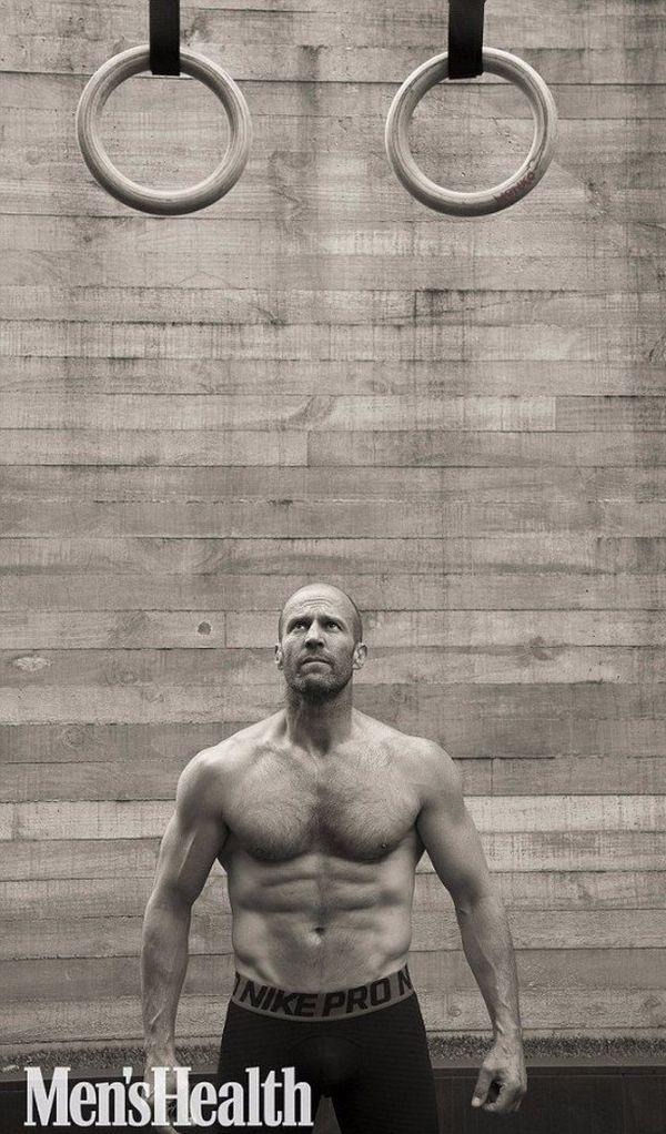 Джейсон Стейтем в фотосессии для журнала Men's Health (8 фото)