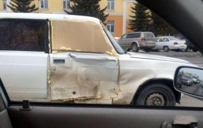Фото, которые возможно было сделать только в России. Часть61 (39 фото)