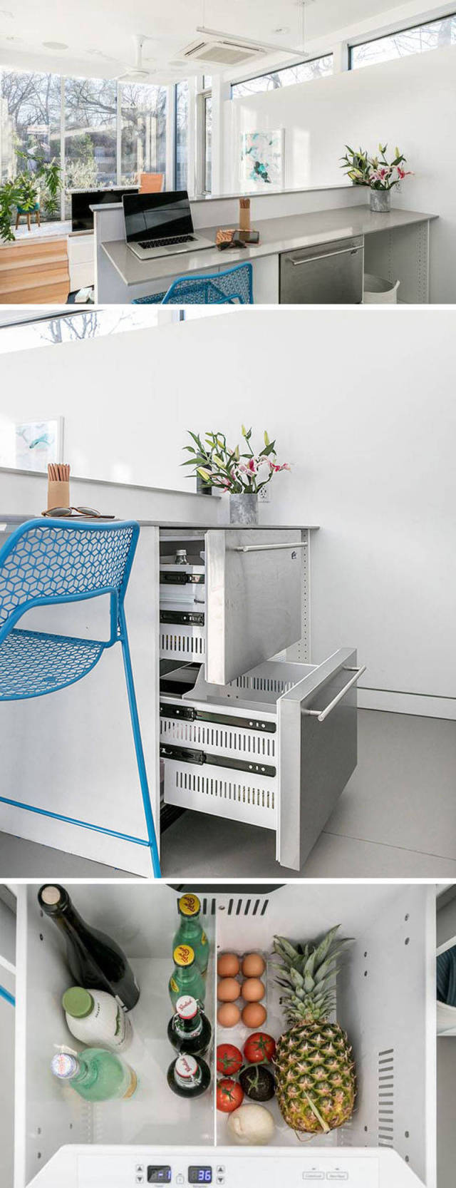 Компактный дом, в котором есть все, что нужно для комфортной жизни (10 фото)