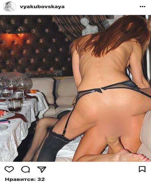 Неизвестные опубликовали интимные фото модели и телеведущей Виктории Якубовской (6 фото)