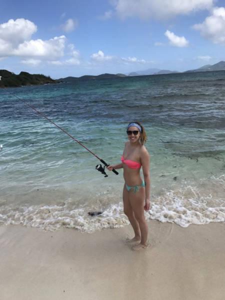 Очаровательные любительницы рыбалки (50 фото)