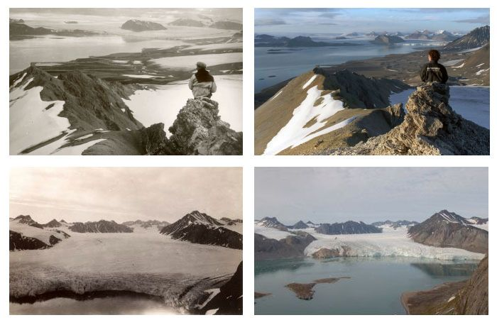Как изменение климата влияет на состояние ледников (7 фото)