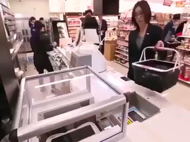 Японский супермаркет