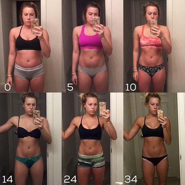 Кто сколько сбросил вес