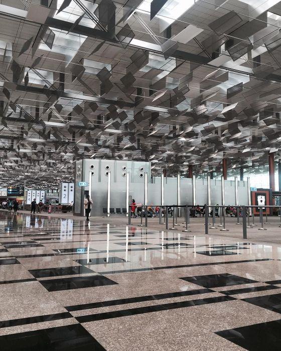Аэропорт Чанги в Сингапуре - лучший аэропорт в мире (31 фото)