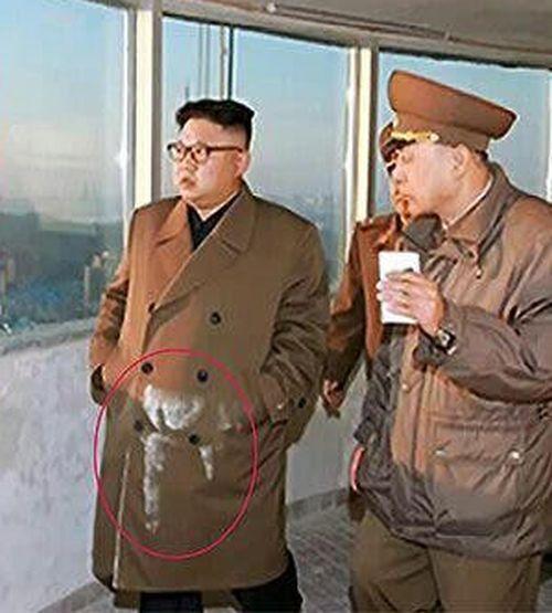 Ким Чен Ын в новостройке (2 фото)