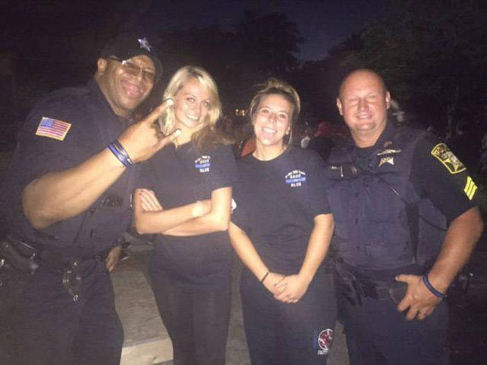 Прикольные полицейские (40 фото)